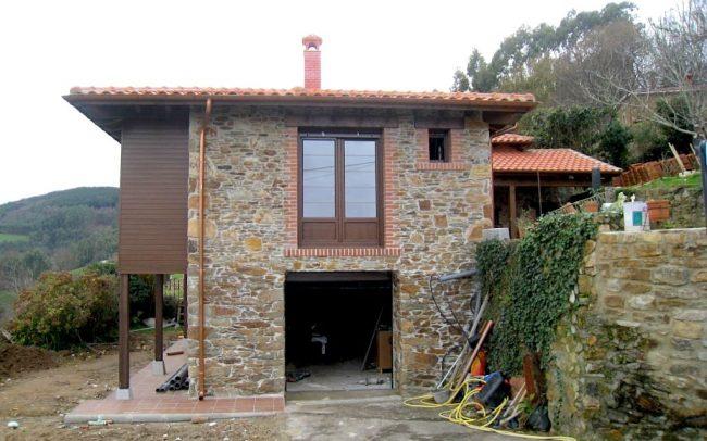 Reforma ampliación vivienda en La Tabla Cudillero Asturias