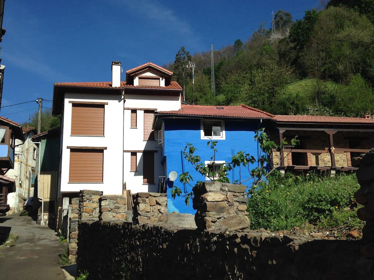 Reforma de casa tradicional en la villa de Mieres Asturias