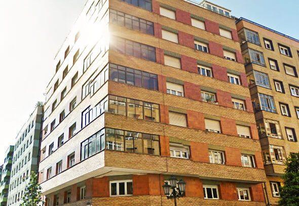 Reforma de fachadas en Oviedo calle Gloria Fuertes proyecto de Dolmen Arquitectos de Asturias-1 6