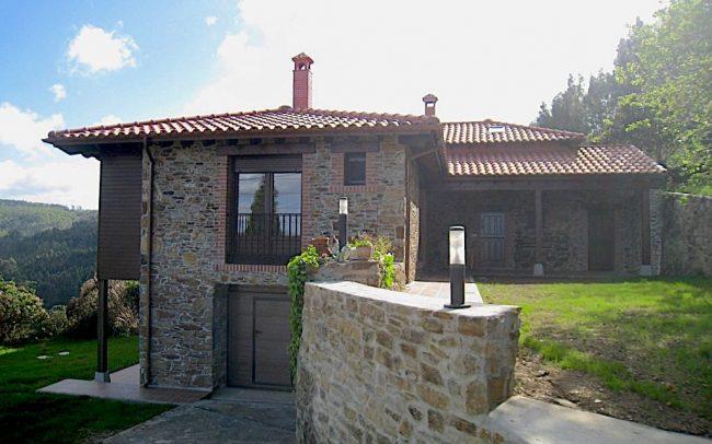 Reforma y ampliación de vivienda en La Tabla en Cudillero Asturias