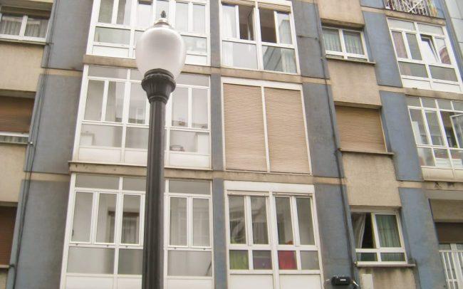 Rehabilitación de fachada Gijón calle Canga Argüelles Asturias