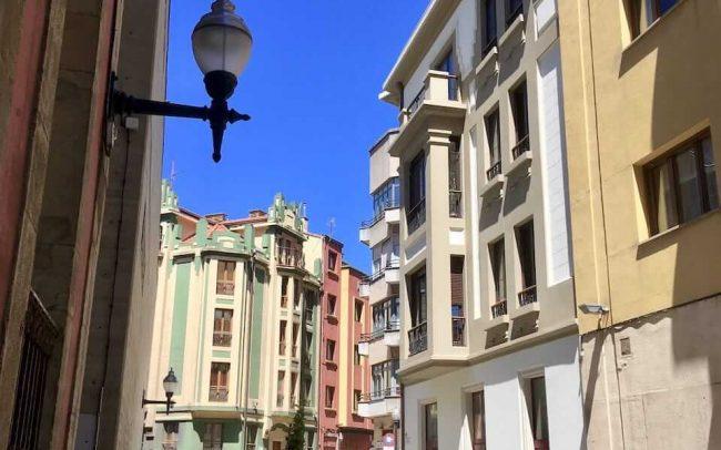 Rehabilitación de fachadas en Gijón calle Instituto 8