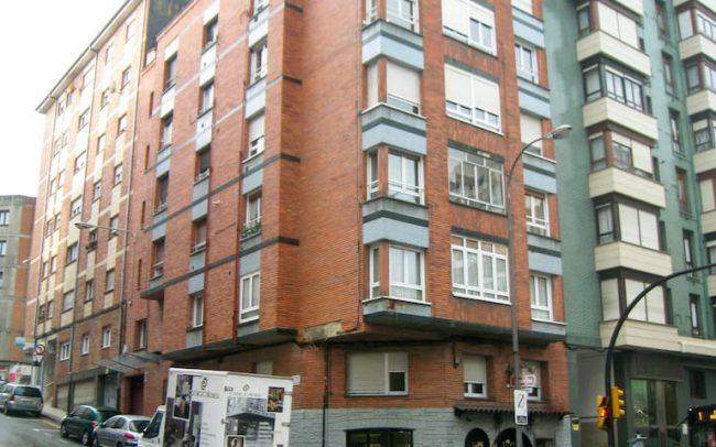 Renovación de fachadas en la calle Reconquista de Gijón Asturias
