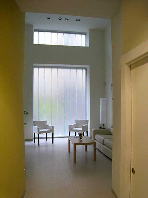 Sala de espera de clinica dental Avda de Castilla Gijon