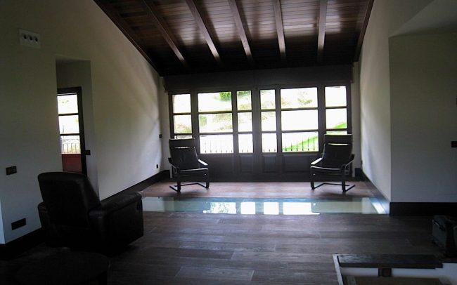 Salon vivienda unifamiliar Villaviciosa Asturias