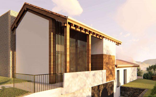 Vivienda unifamiliar La Tejera Carreño Dolmen Arquitectos Asturias