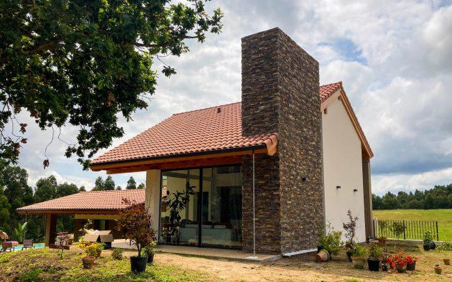 Vivienda unifamiliar La Tejera Carreño Dolmen Arquitectos Asturias obra terminada