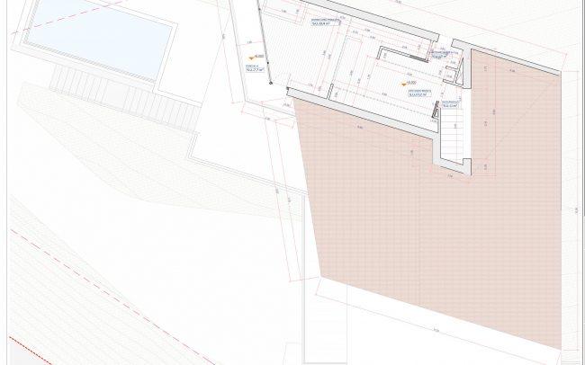 Vivienda unifamiliar en Cabueñes Dolmen Arquitectos planta dormitorio principal