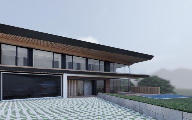 Vivienda unifamiliar en Cantabria proyecto de Dolmen Arquitectos Asturias