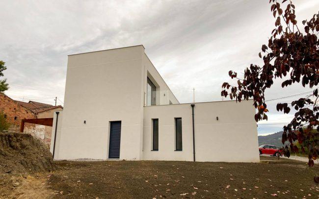 Vivienda unifamiliar en La Felguera Langreo Dolmen Arquitectos de Asturias