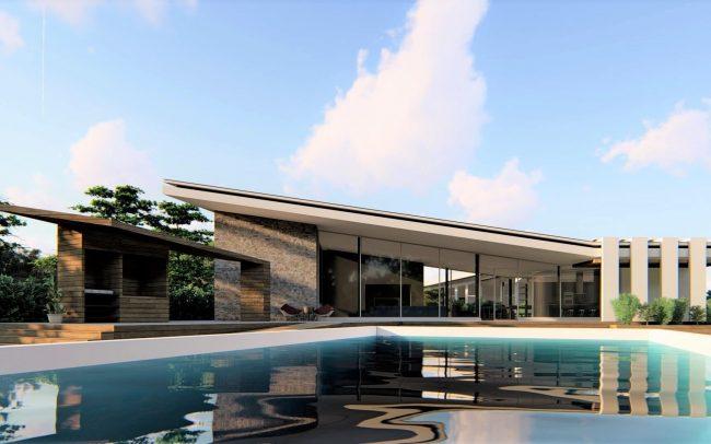 Vivienda unifamiliar casa patio en Morales del Vino Zamora Dolmen Arquitectos Asturias